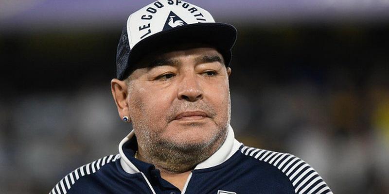 Diego Armando Maradona - legendary football players