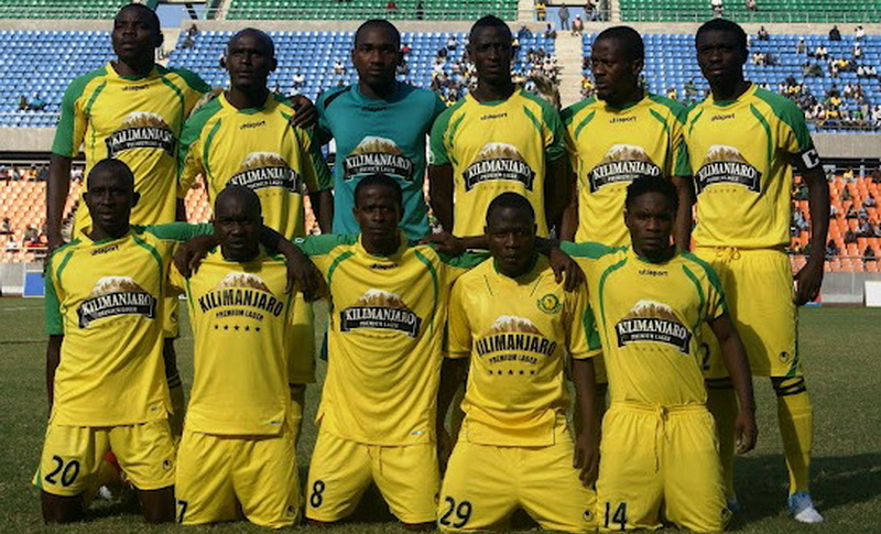 The team. Young african FC SC sports football club