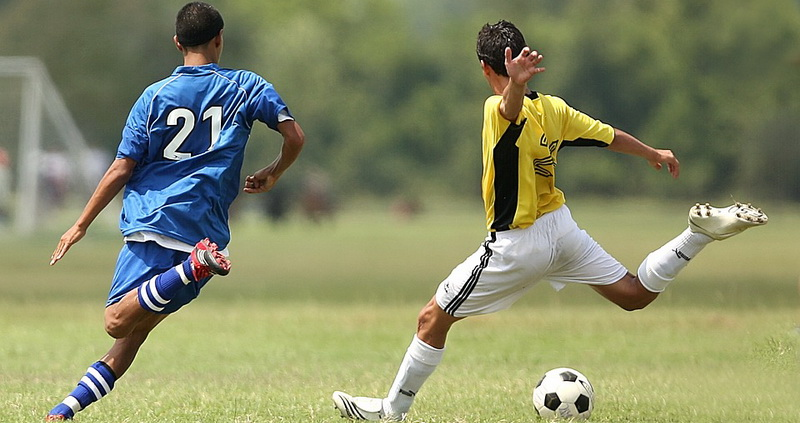 Two players - soccer and football rules and regulations