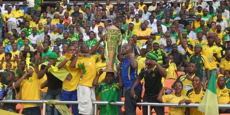 football match. Young africans FC SC sports football club