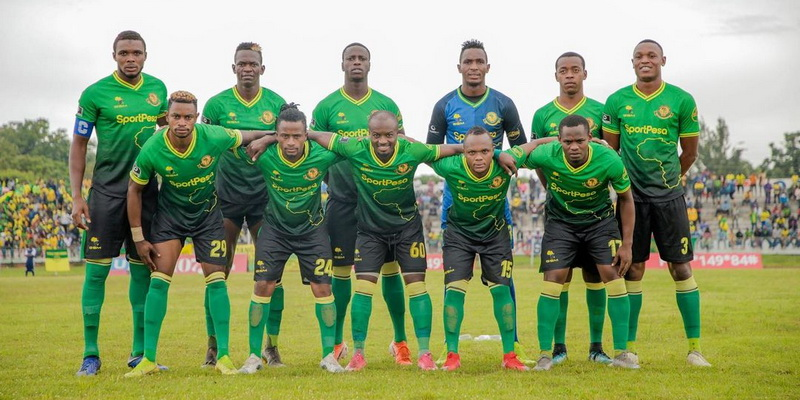 game team with green outfit